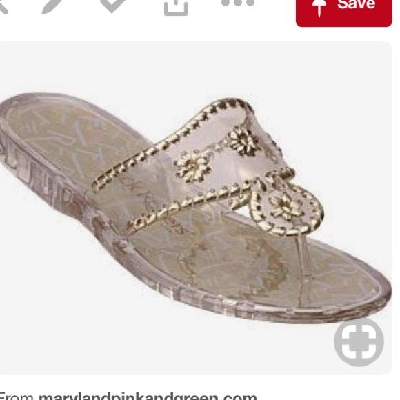 f4f6bb8daa8478 Jack Rogers Shoes - Jack Rogers Navajo Jelly Platinum Sandals sz 8